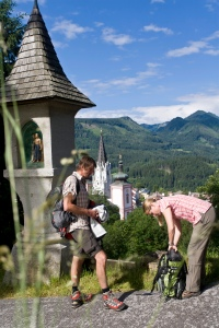 Mariazeller Weg: Blick vom Marterl bei Mariazell © Steiermark Tourismus Leo Himsl