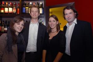 Agentur-Team Martschin & Partner (v.l.n.r.: Carina Plandor, Jakob Lajta, Ines Fürlinger, Hannes Martschin)