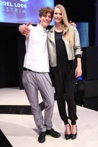 Serge Rigvava & Laura Strantz (Gewinner Elite Model Look Austria 2014)