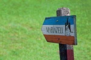 Wegweiser Mariazell © www.MariazellerlandBlog.at