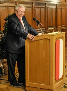 Bürgermeister Dr. Michael Häupl bei der Eröffnungsrede (© Günter W. Hieger)