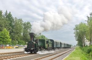 Historische Dampflokomotive 671 (© Gottfried Aldrian)