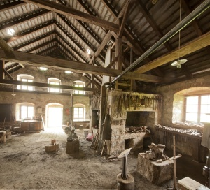 Historische Schmiede Hofwieshammer, Windhaag bei Freistadt (© BDA Michael Oberer)
