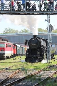 Historische Lokomotive Eisenbahnmuseum Strasshof (© Eisenbahnmuseum Strasshof)