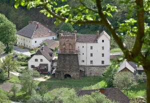 Historischer Hochofen St Gertraud (© BDA Foto Petra Laubenstein)