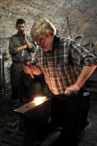 Historisches Schmiedehandwerk Kartause Mauerbach (© BDA)