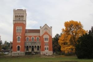 Schloss Rotenturm Ansicht vom Schlosspark Rotenturm an der Pinka (© Prof Heinz Schinner)